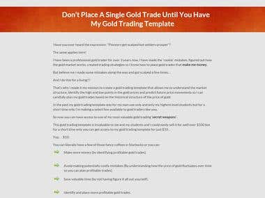 Gold Trading site