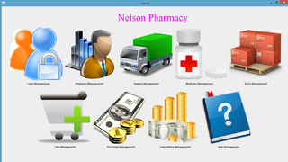 Nelson Pharmacy(A Medical Store System)