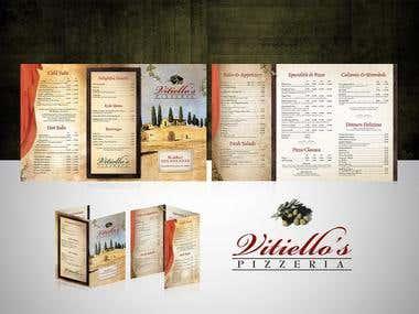 Vitiello's Pizzeria Brochure