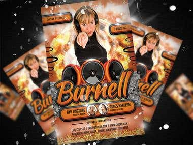 Burnell Flyer Template