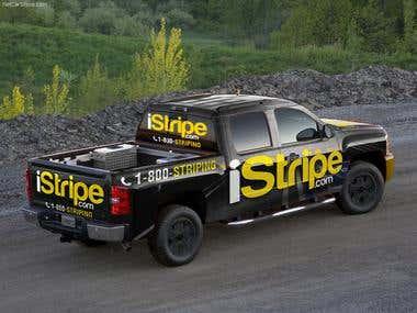 iStripe Car Wrap
