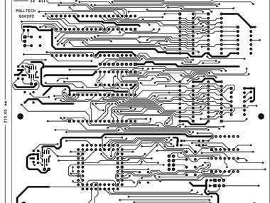 Emulator - 8051 - PCB