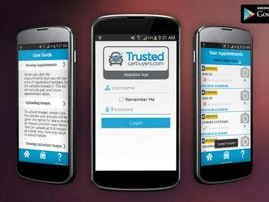 Trusted Car buyers App (Android)