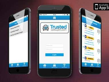 Trusted Car buyers App (iPhone)