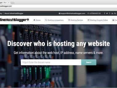 Inlinehostblogger Hosting Company WordPress Website