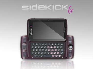 Rediseño de Telefono SideK!ck/ Telephone redesign Sidek!ck.