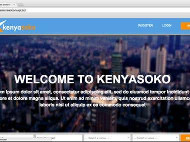 Kenyasoko Classified & Auction Web Application