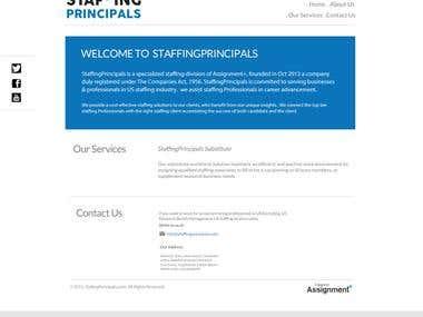 Staffing Principal
