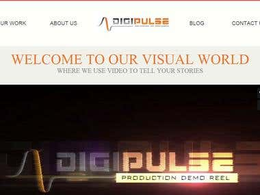 A video Production company website