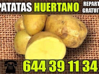 Tarjeta de visita - Patatas Huertano