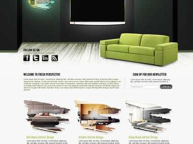 Website Layout Design