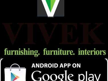 Android app for Vivekestore.com