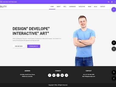 Sility PSD to HTML Conversion