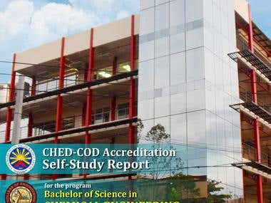 Cover Page for University Accreditation Report