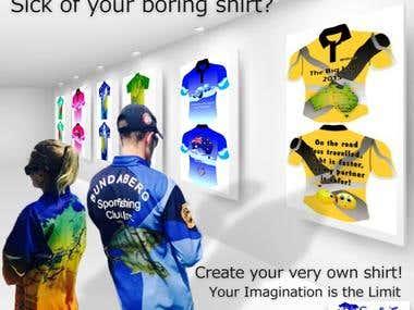 Social Media Ad for T-shirt Company