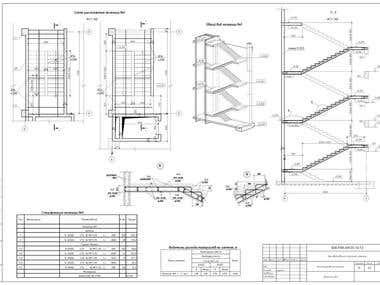 reinforced concrete frame