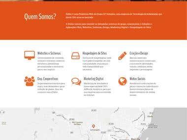 Website Eddur Produtora Web