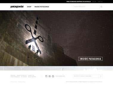 site patagonia.com.au