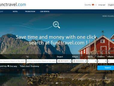 Functravel - Flight search engine