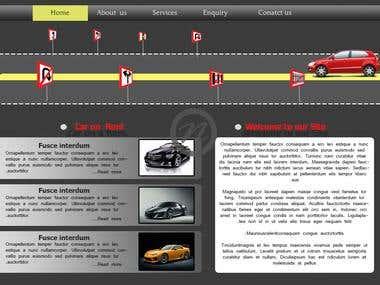 sharwari rental car Template (http://sharwaricar.in/)