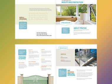 Brochure Layout - 4 sides