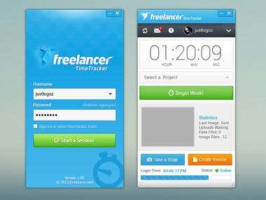 Official Freelancer.com Timetracker App