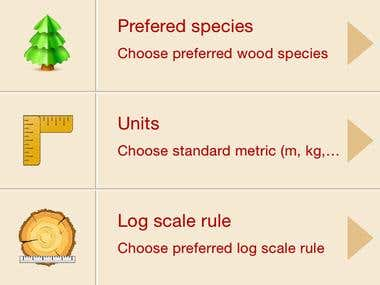 Mobile Wood Converter iOS version