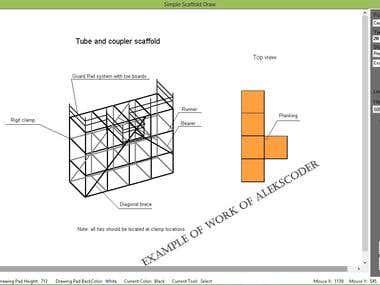 Simple Scaffold Draw