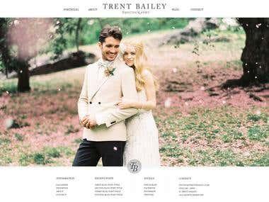 Wedding website in PHP