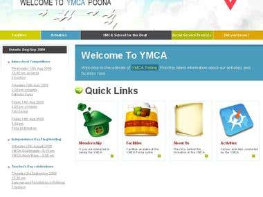 YMCA Poona - Philanthropy Website