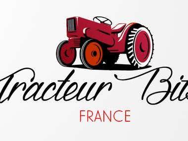 Tracteur Bits - Logo Design