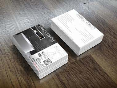 Perfect Circle Bathroom - Business Cards
