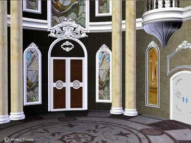 lobby of palace