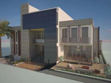Villa Exterior - Qatar