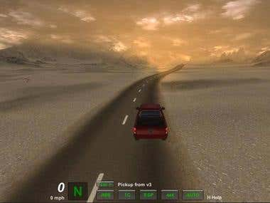 Unity 3D game - GIS based