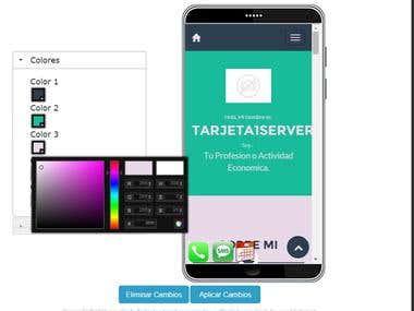 eCard - Sistema para creacion de tarjetas y Apps en linea