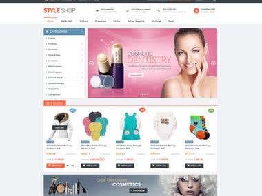 acommarce web portal
