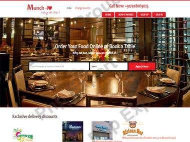Food Odering Web Portal