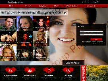 Dating Web Application