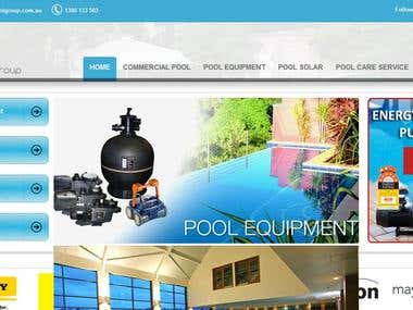 Splash pool group website