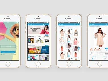 Online Ecommerce Iphone Application