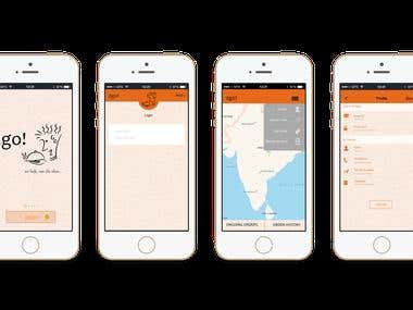 Online Food Delivery Iphone Application