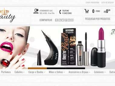 Store for women beauty products