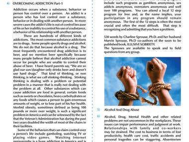 Printable Newsletter Design