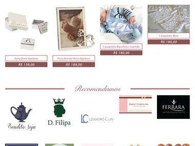 E-commerce Design And Developed in Word press.