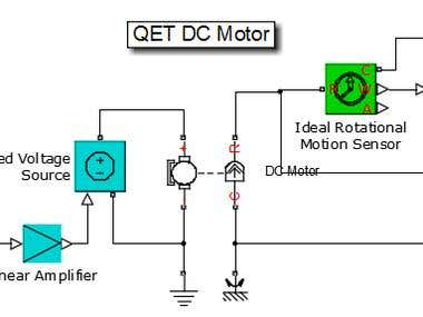 DC Motor Simulation using Simulink