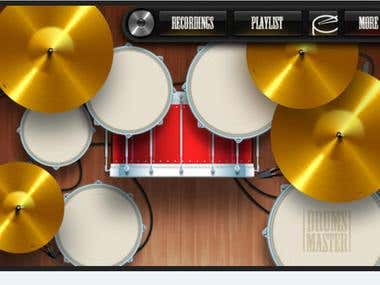 Musical Instrumental Application