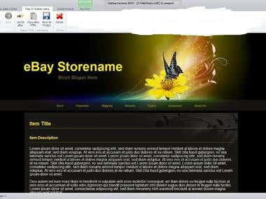 Online Marketing desktop application eBay