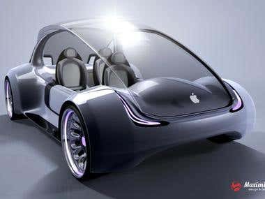 Rumored Apple Car concept
