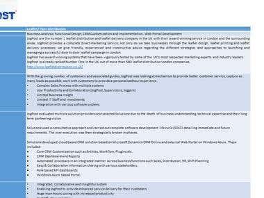 Jogpost - Leaflet Distribution management system